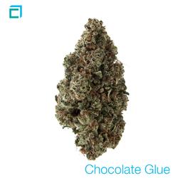 Thumb chocolate glue